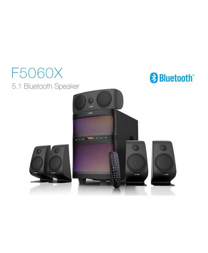 F&D 5:1 Bluetooth Hometheatre F5060X
