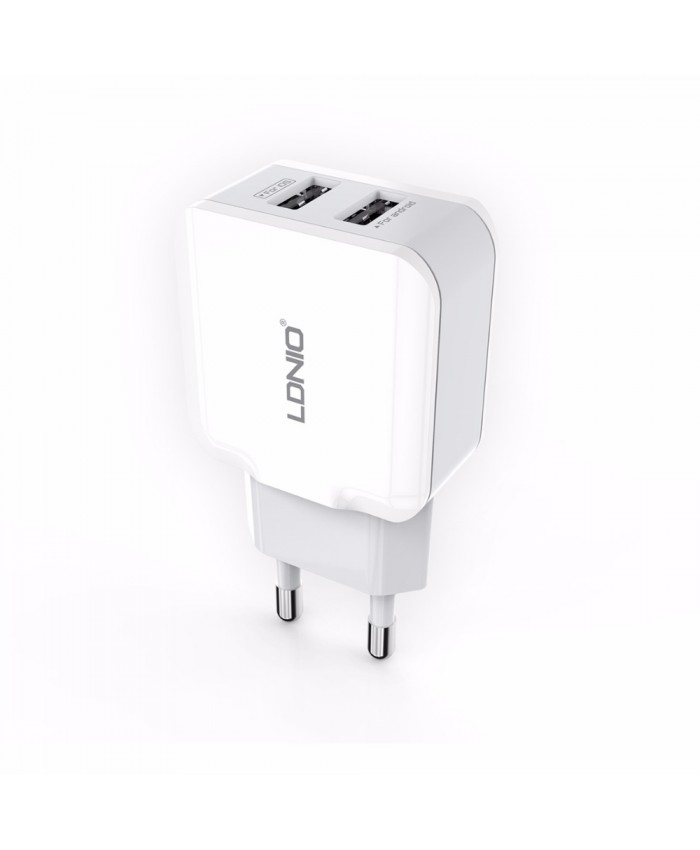 LDNIO A2202 2.4A Dual USB Wall Charger