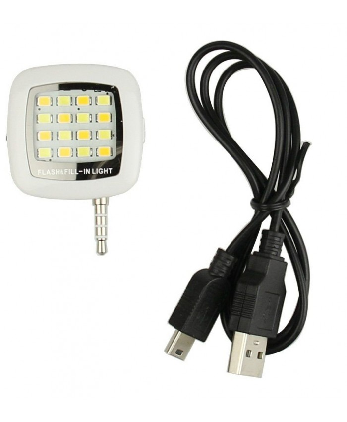 Smartphone Portable Mini 16 LED Flash Fill Light