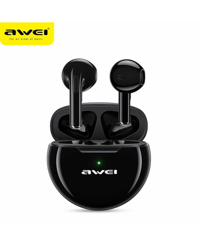 Awei T17 TWS Wireless Bluetooth Earbud Gaming Mini in Ear Type-C Charging With Microphone For Sport Game
