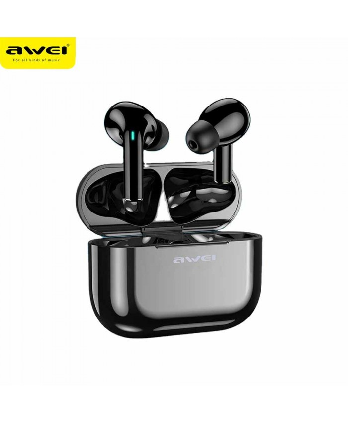 Awei T29 TWS Wireless Bluetooth Smart Touch Sports Dual Earbuds With Charging Case