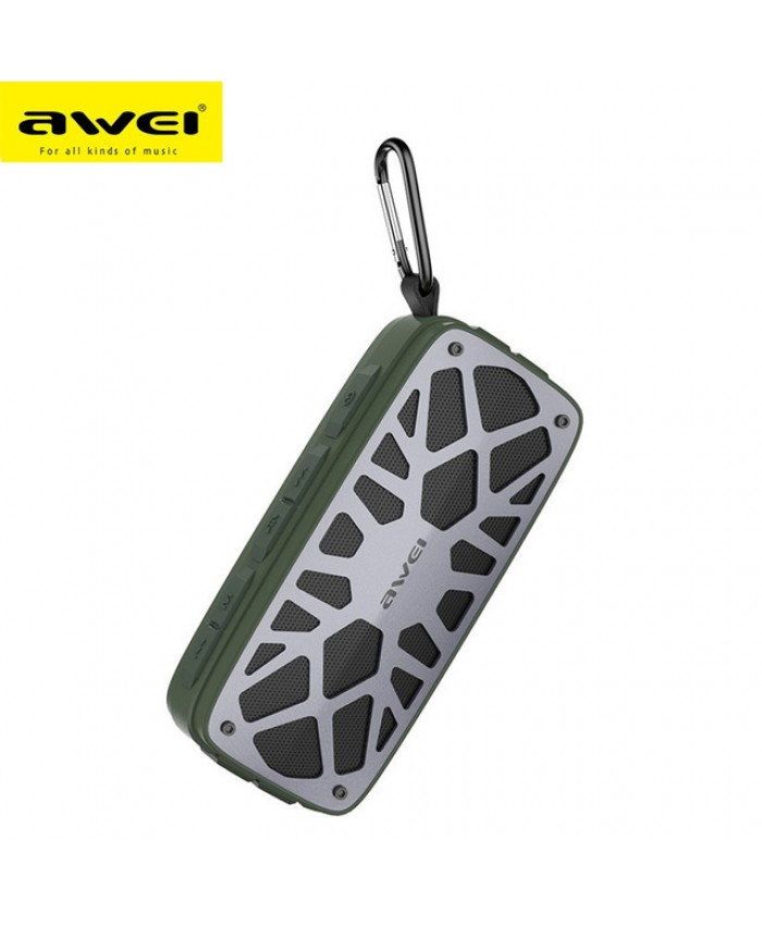 AWEI Y330 Wireless Bluetooth Speaker Dual Units FM Radio TF Card