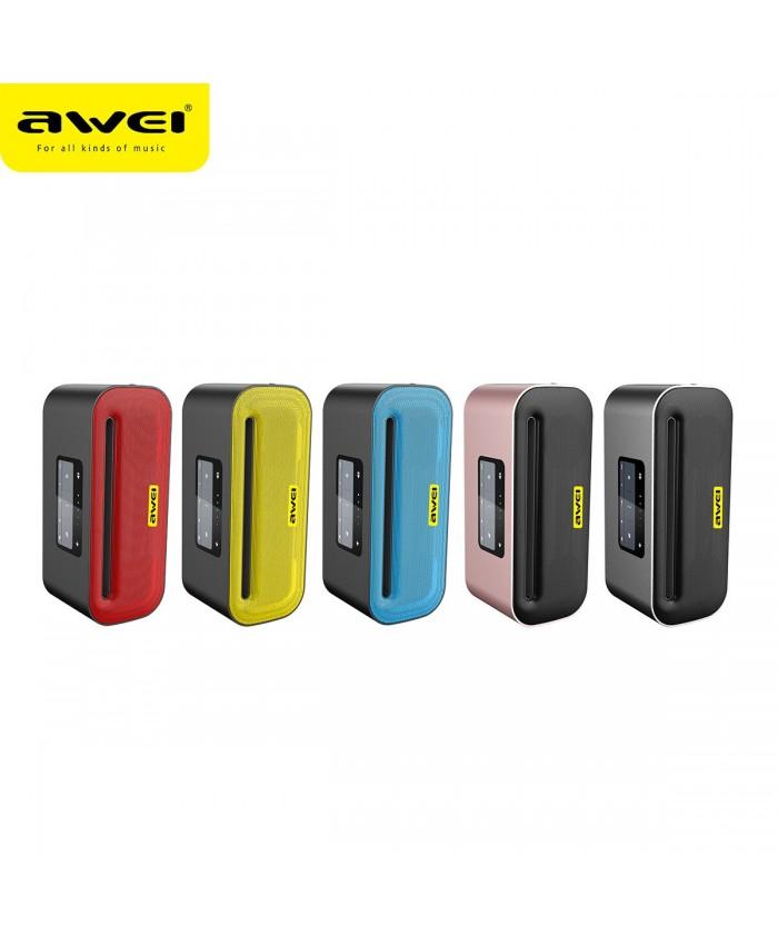 AWEI Y600 NFC Aluminum Alloy Metal Portable Wireless Bluetooth Speaker