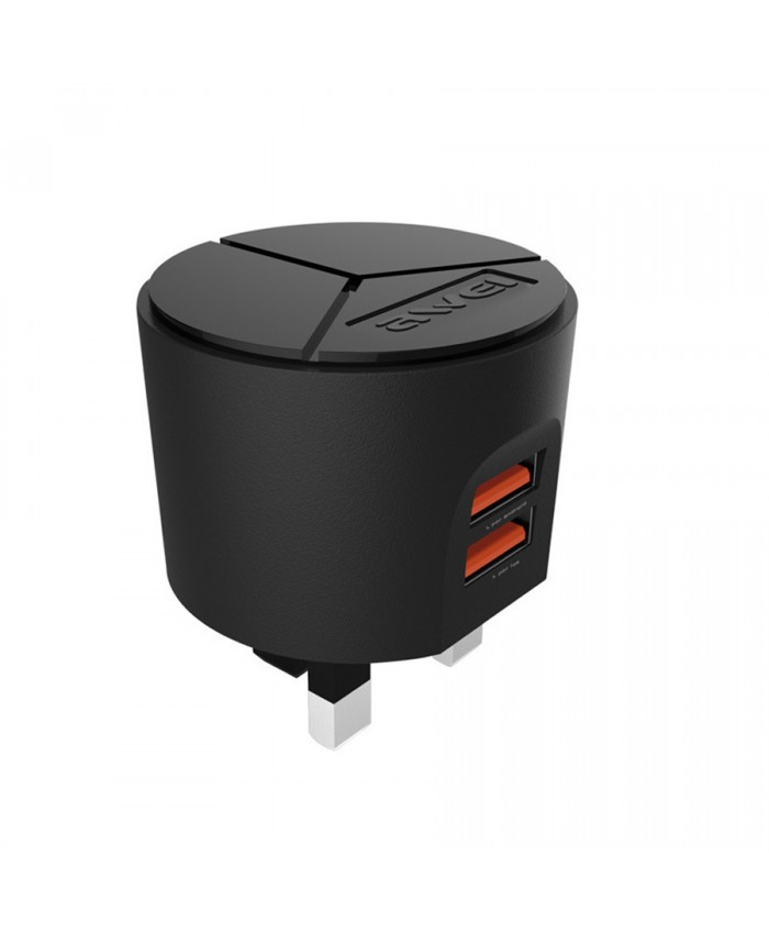 Awei C-940 Fast Power Charger Kit With i-phone cable