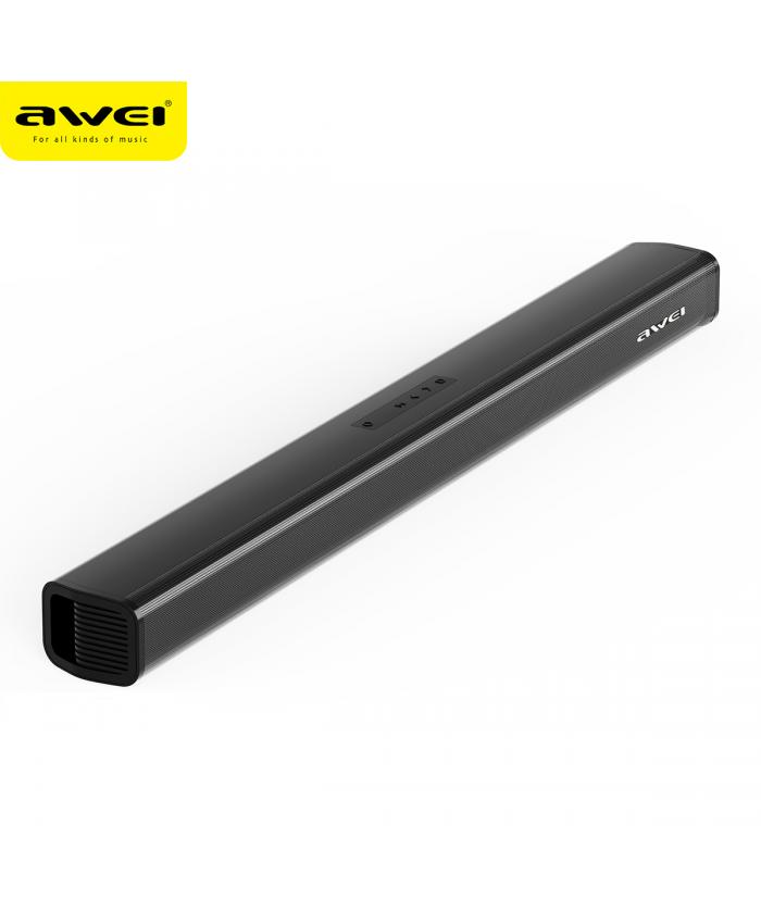 Awei Y999 Wireless Bluetooth Hometheatre System Sound Bar Infrared Remote Streamlined Design 6D Surround Sound