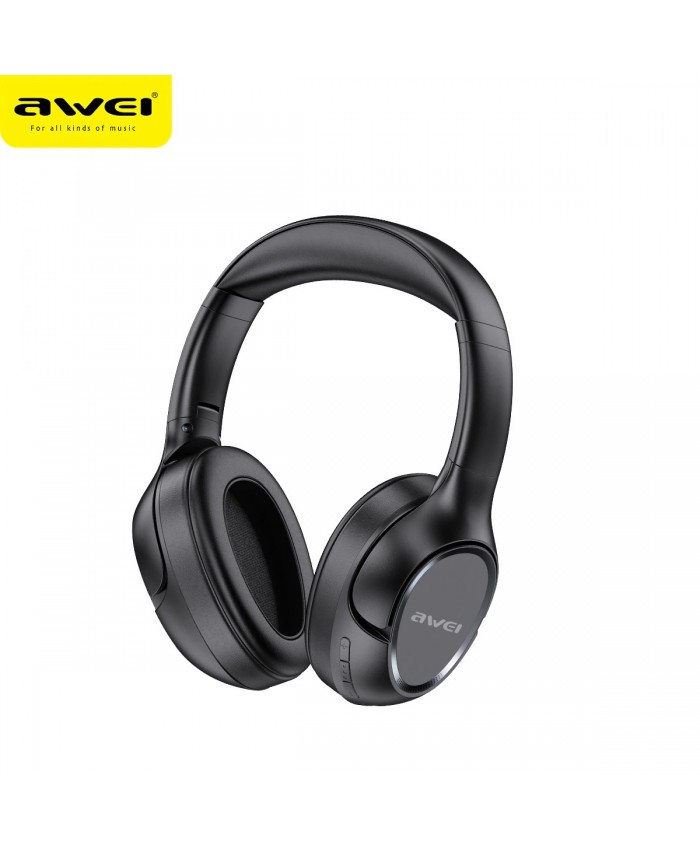 AWEI A770BL Bluetooth Headphones Wireless Headset With Mic Foldable HiFi Stereo Support TF Card 40mm Driver For Gaming Music