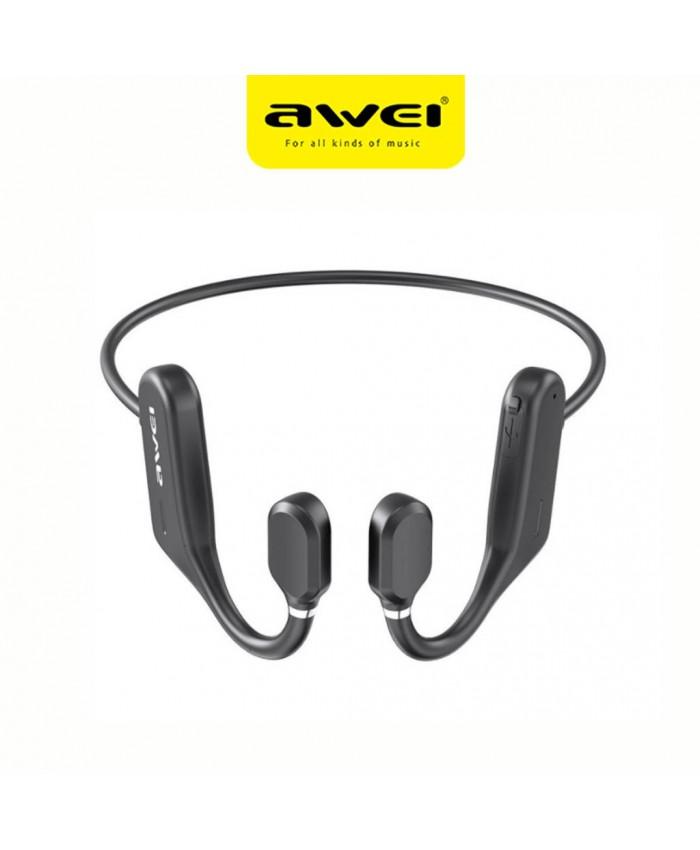 Awei A889BL Wireless Bluetooth Earphone Air Conduction Sports Ultra Light Neckband
