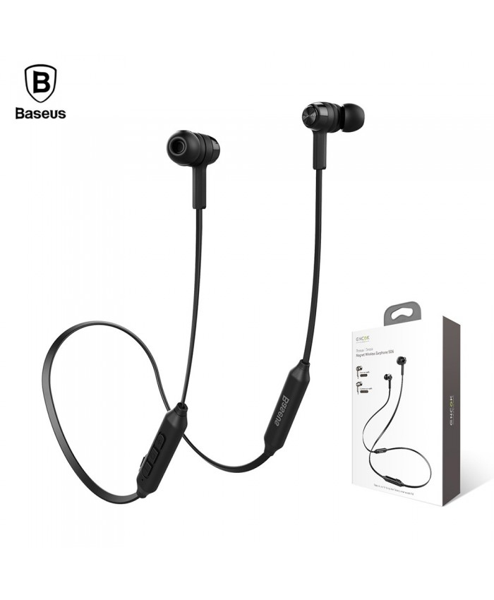 Baseus Encok S06 magnet wireless bluetooth earphone