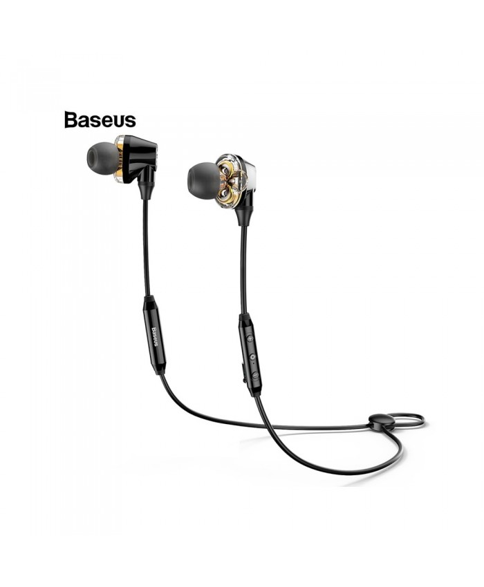 Baseus Encok S10 Wireless Bluetooth Earphone Dual Dynamic Stereo Headphone