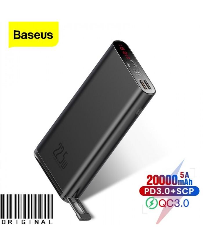 Baseus Starlight 20000mAh Power Bank 22.5W  Digital Display  Fast Charging