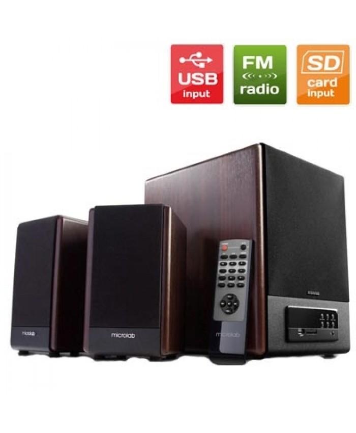 Microlab 2:1 Multimedia Speaker FC 530U