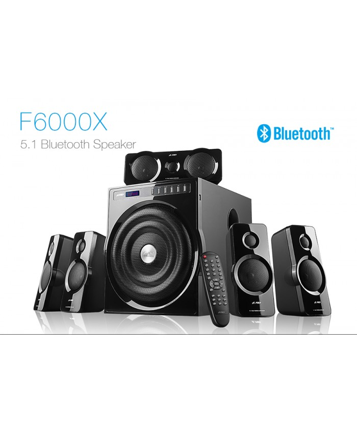 F&D 5:1 Wireless Hometheatre F6000X
