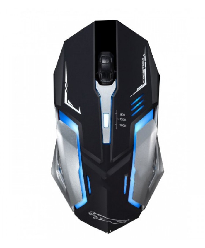 K 139 LED Wired Gaming Mouse Polychromatic Light Breath