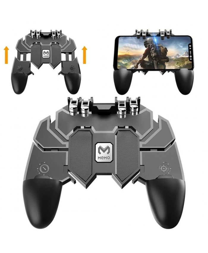 Pubg Gamepad AK66 Mobile Phone Game Controller Shooter Trigger Fire Button For IPhone Android Phone Game Accessories