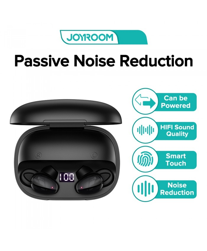 Joyroom JR-TL2 Wireless Bluetooth Binaural Earbuds Touch CVC 8.0 Noise Cancelling Stereo Sports Earbuds With Dual Mic