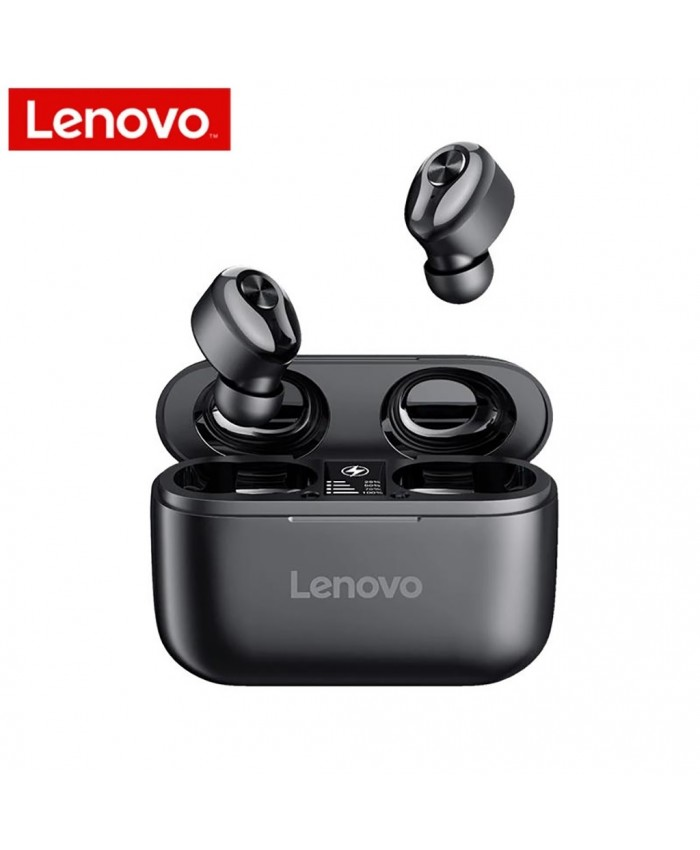 Lenovo HT18 TWS Noise Cancelling 3D Stereo Bluetooth 5.0 Wireless Earbuds  With Dual Mics