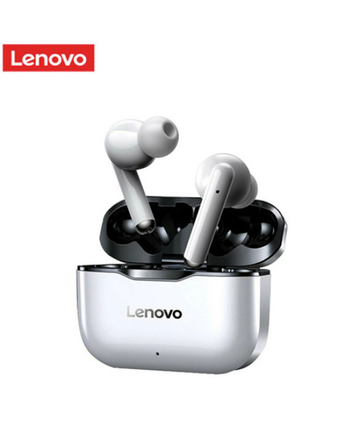 Lenovo LP1 BT 5.0 Earbuds Wireless Charging Box 9D Stereo Waterproof With Noise Cancelling
