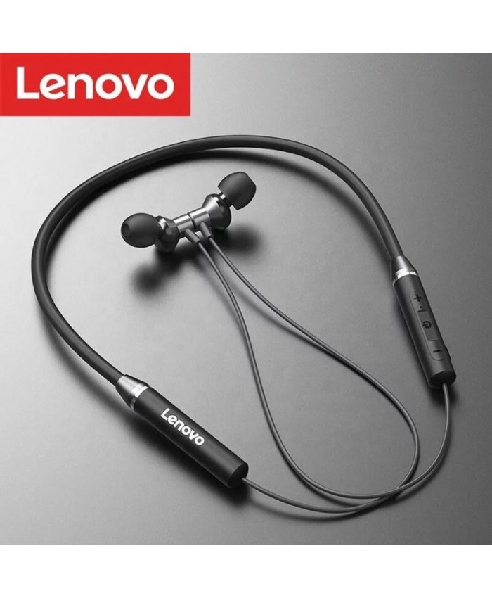 Lenovo HE05 Wireless Sport Magnetic Hanging Earphone Bluetooth 5.0 Call noise reduction 8 Hours Music Control