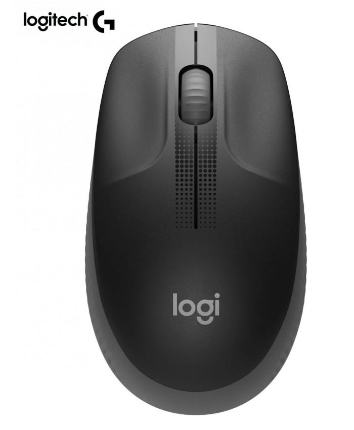 Logitech M190 Wireless Mouse Lag-Free 2.4GHz USB Nano Full-Size Mice