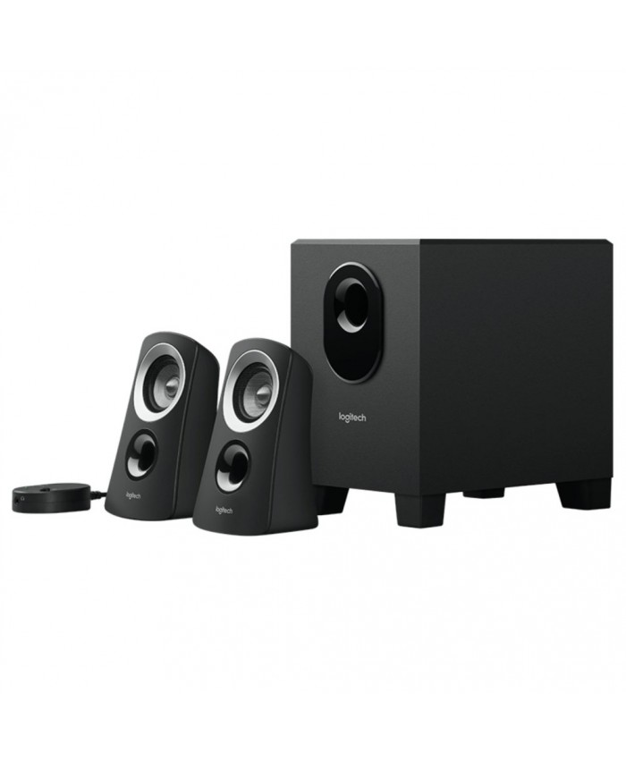 Logitech 2:1 Z313 Speaker System With Subwoffer