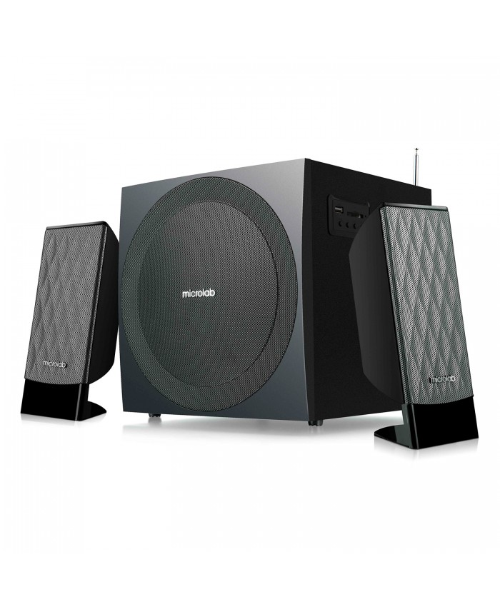 M300 BT  Microlab 2:1 Multimedia Blutooth Speaker