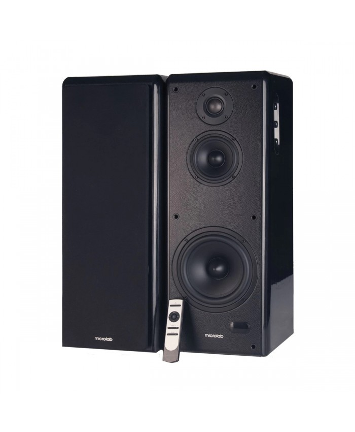 Microlab Solo 19 Wireless Bluetooth High Performance Active Powered  Speakers Hometheatre Sound System