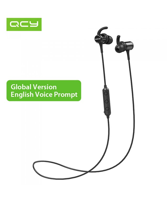 QCY M1C Wireless Bluetooth Sports Earbuds With Built-In Mic