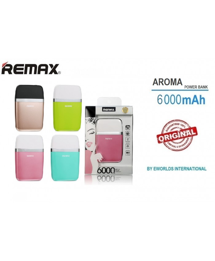REMAX Power Bank Aroma Series 6000mAh RPP-16