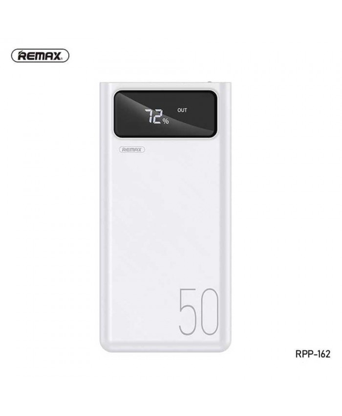 Remax Rpp-162 Mengine Series 50,000mah Power Bank With 4usb Outputs & 3usb Inputs Digital Disply