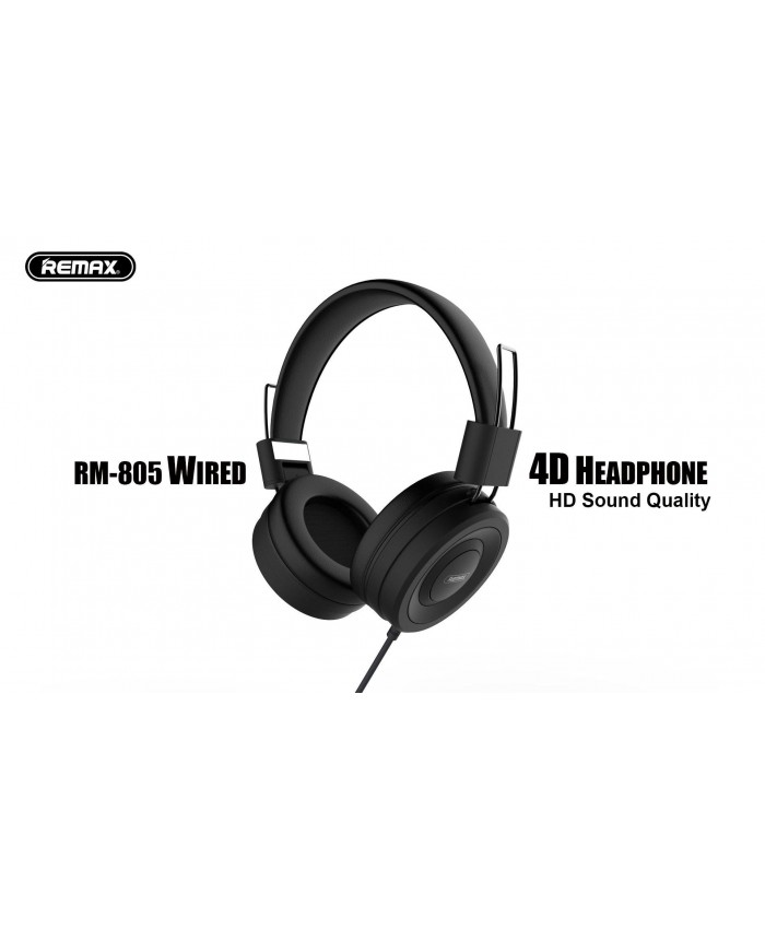 Remax RM - 805 Wired Headset Music Over-Ear Headphone