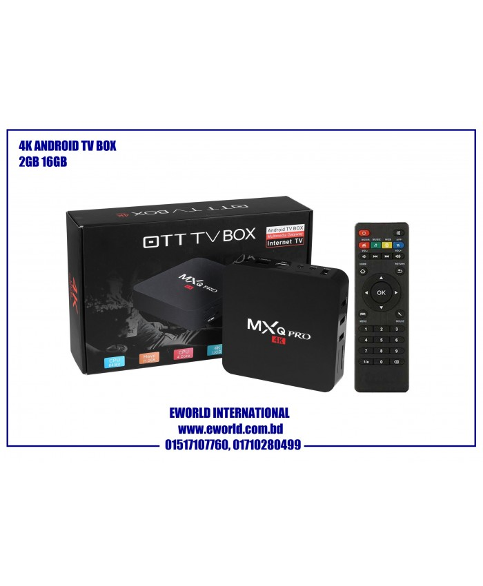 Original MXQ Pro Android TV Box 2GB 16GB