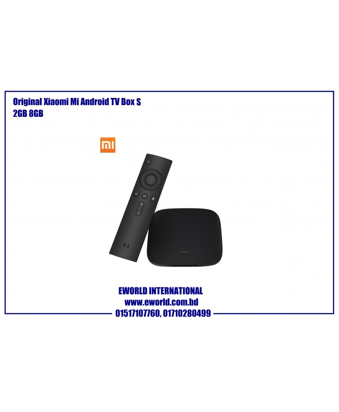 Xiaomi Mi Smart TV Box S (Global Version)