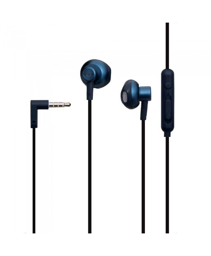 UiiSii HM12 Piston Wired Heavy Bass Metal Earphones With Built-In Microphone