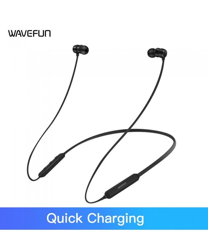 Wavefun Flex Pro Fast Charging Wireless Bluetooth Earphone