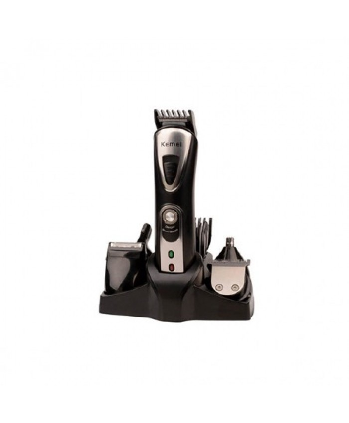 Kemei Original Electric Rechargeable 9 in 1 Shaver, Trimmer, Nose Trimmer, Hair Clipper KM-1617
