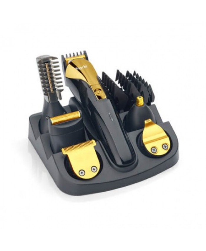 Saachi 12 in 1 Grooming Kit (NL-TM-1352) - Black & Gold
